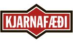 kjarnafaedi_logo_hvittbest